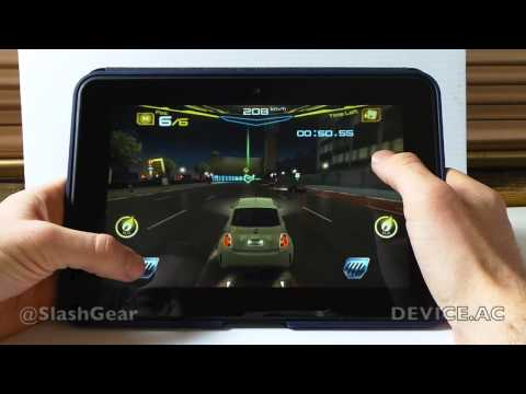 Kindle Fire HD 8.9 hands-on with gaming