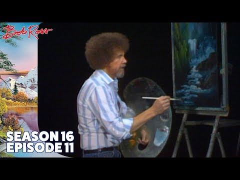 Bob Ross - Waterfall Wonder (Season 16 Episode 11)