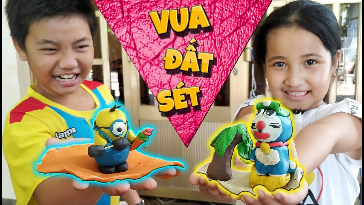 Tony | Thi Nặn Nhân Vật Doraemon & Minion Bằng Đất Sét