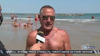 Termoli: spiagge prese d'assalto, turisti anche da fuori regione