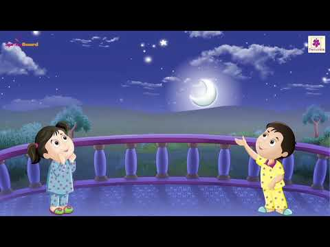 Day And Night  Animated English Rhyme For Kids  Periwinkle