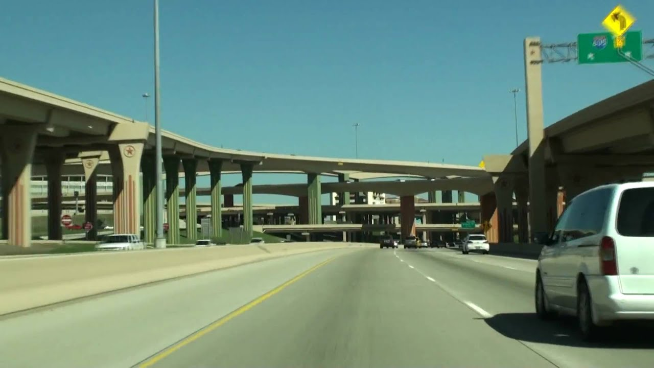 What Is Hov Lane >> I-45/US-75 N Central Expressway Dallas,TX - YouTube