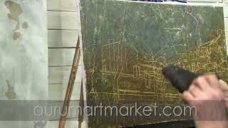 Видео урок живописи Облака над старой Одессой