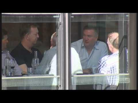 AFL Presidents Meeting - Behind Open Glass