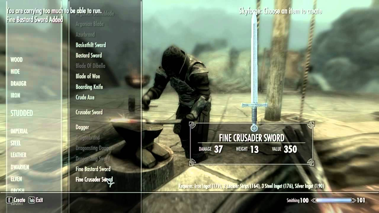 Skyrim JaySuS Swords Mod