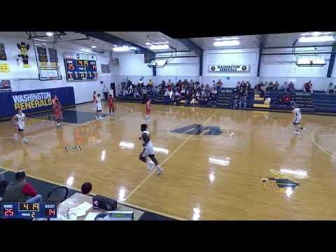 Washington  vs. sharkey issaquena academy Varsity Womens' Basketball