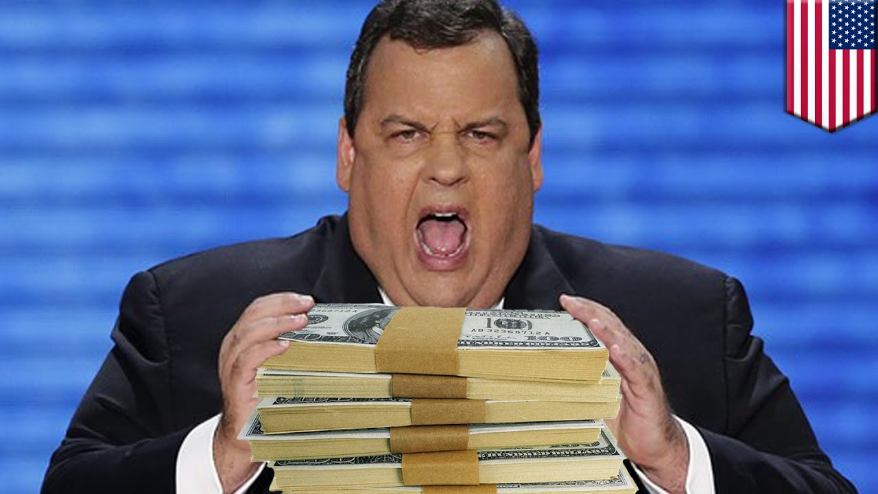 Chris Christie eats $300,000 of food: New Jersey governor ...
