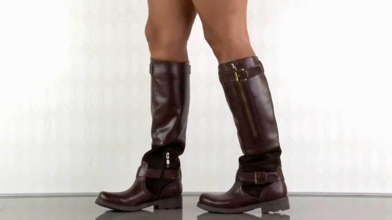 Guess Shoes Rider In Brown Multi Leather Youtube