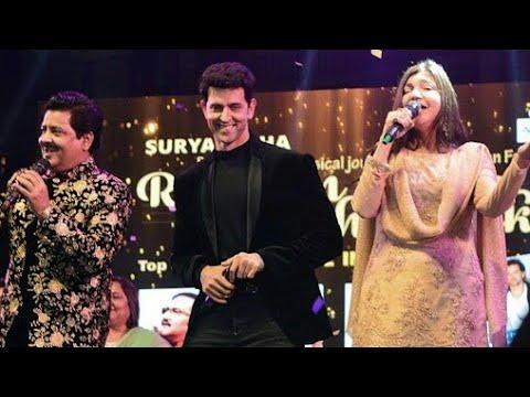 Roshan Se Roshan Tak Musical Journey : Hrithik Roshan, Udit Narayan, Kumar Sanu, Alka Yagnik | HD