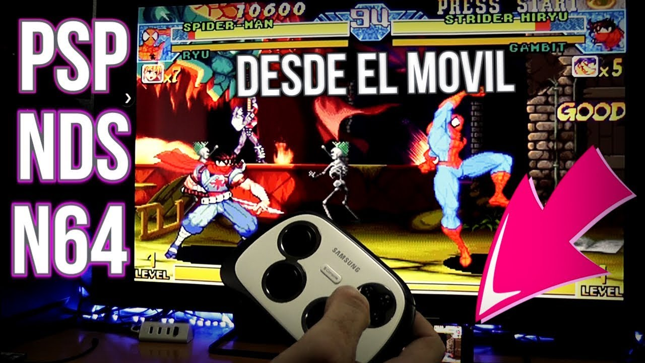 SUPER EMULADOR MOVIL - CHROMECAST - PSP - N64 - DS - Y MUCHO MAS -  #EmuladorRecreativas