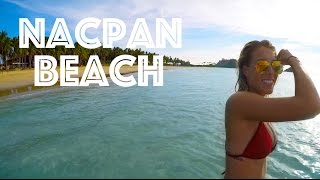 WORLDS MOST BEAUTIFUL BEACH - Nacpan, Palawan Philippines