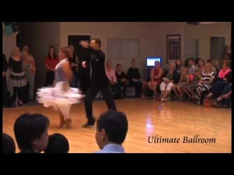 Pro-Am American Smooth Viennese Waltz Show Dance at Ultimate Ballroom Dance Studio