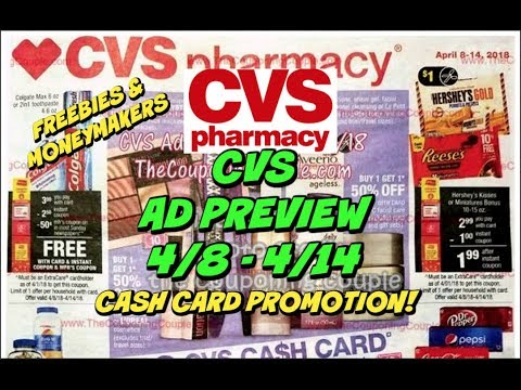CVS EARLY AD PREVIEW FOR 4/8 - 4/14 | MUST WATCH...Moneymakers & Freebies!