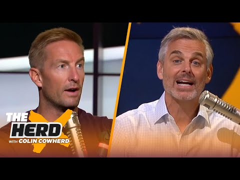 Joel Klatt on why Jim Harbaugh's Michigan team may be his best ever, talks Lawrence & Tua | THE HERD
