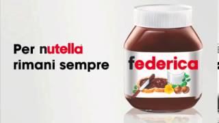 Spot radio 2013 Nutella sei TU Federica