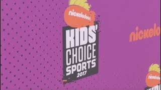 Nickelodeon Kids Choice Sports 2017