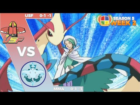 Competitive | South Florida Bulus vs Maritime Mantines MPL S5W2 | Pokemon Sun and Moon