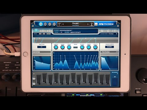 Let's Play With PPG Phonem and ALL the other PPG Apps - iPad Live