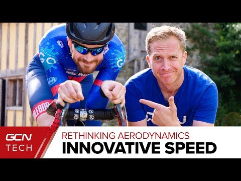 Is This The Most Aero Bike Racer In The World? | Rethinking Cycling Aerodynamics