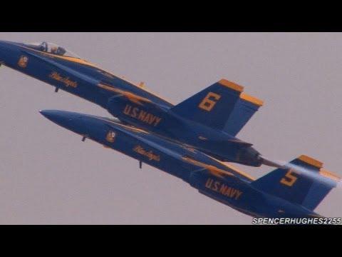 2012 U.S.N. Blue Angels (NO MUSIC, NO NARRATION) !!!