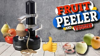 Kitchen Gadget You Never Knew About - Potato and Fruit Peeler Machine Review and Test