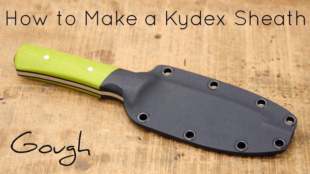 How to Make a Kydex Knife Sheath