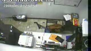 Repeat youtube video What Not to do with a Shotgun in an Office NothingToxic com