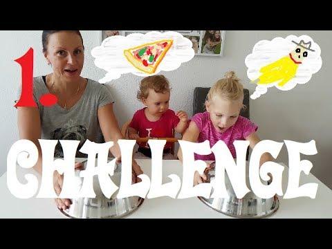Challenge - jidlo proti sladkostem | 1. DÍL | Challenges | Máma v Německu