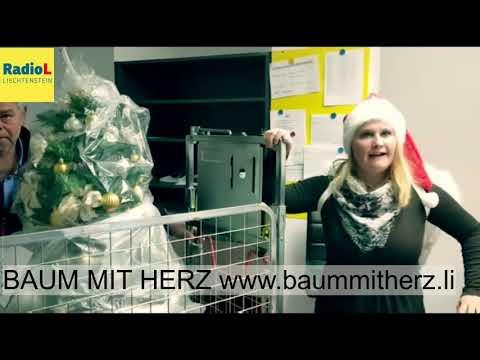 Baum mit Herz besucht Radio Liechtenstein