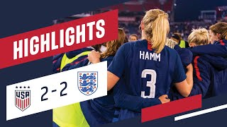 WNT vs. England: Highlights - March 2, 2019
