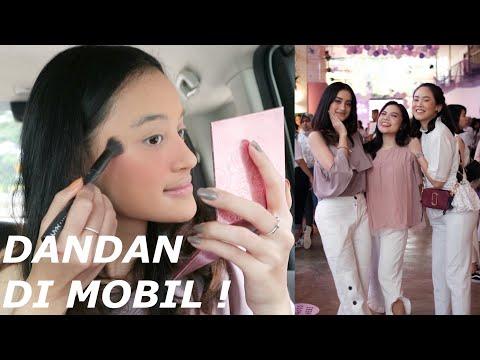 MAKEUP DI MOBIL & MARINA E COLLAGEN ASTA LAUNCHING VLOG | NADYA AQILLA | INDONESIA