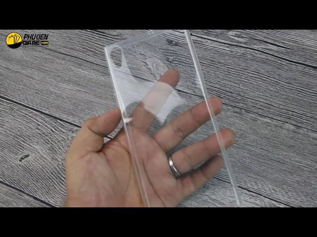 Ốp dẻo trong suốt siêu mỏng Sony Xperia XA1 Ultra