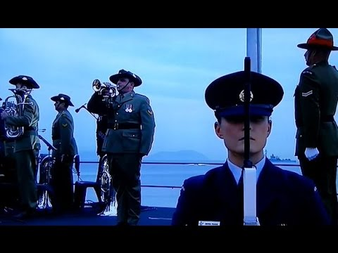 ANZAC DAY 2015 Gallipoli Dawn service ANZAC ode