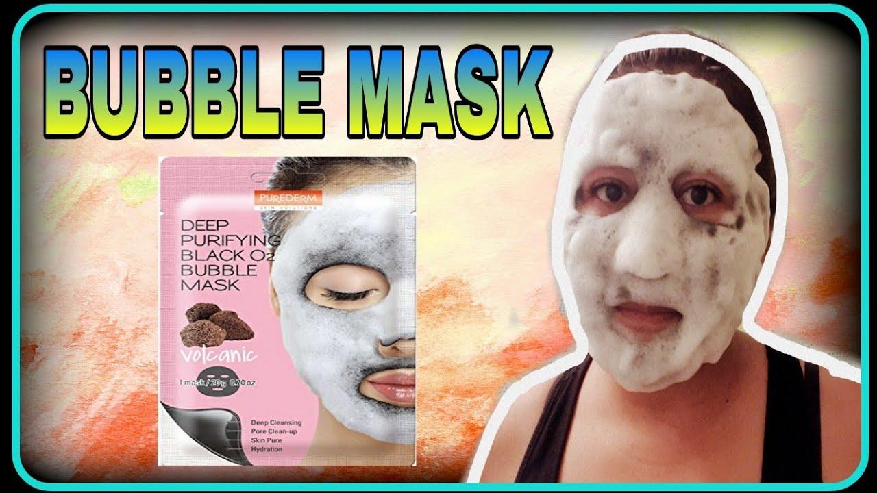 como se usa la mascarilla carbonated bubble clay mask