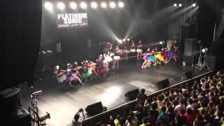 「PLATINUM SONIC 2015」綱引き対決(PASSPO☆ vs palet) ※竹中夏海先生...