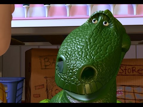 Terrible beast rex toy story youtube - Dinosaure toy story ...