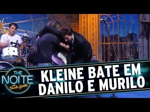 The Noite (10/06/16) - Marcos Kleine dá um pau em Danilo e Murilo