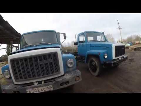 Газ-53. Замена кузова