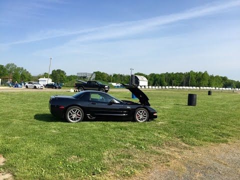 Nelson Ledges Track Day - Corvette Z06