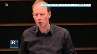 Martin Sonneborn vor dem EU-Parlament: Erdoğan, der