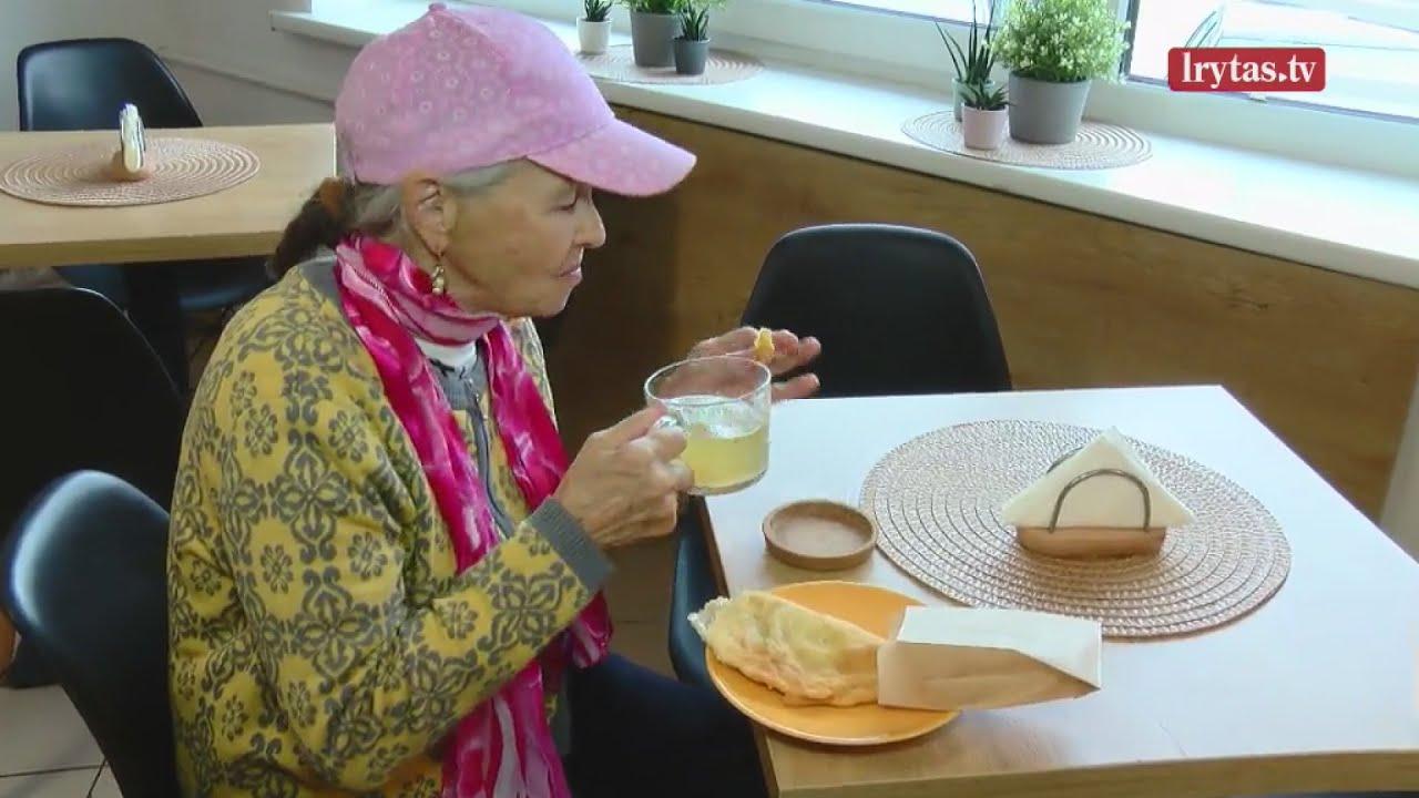 Kauno užkandinės pasiūlymas – nupirkti pietus senjorui