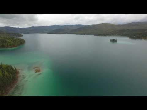 Lake Ashley Flyover - DJI Phantom
