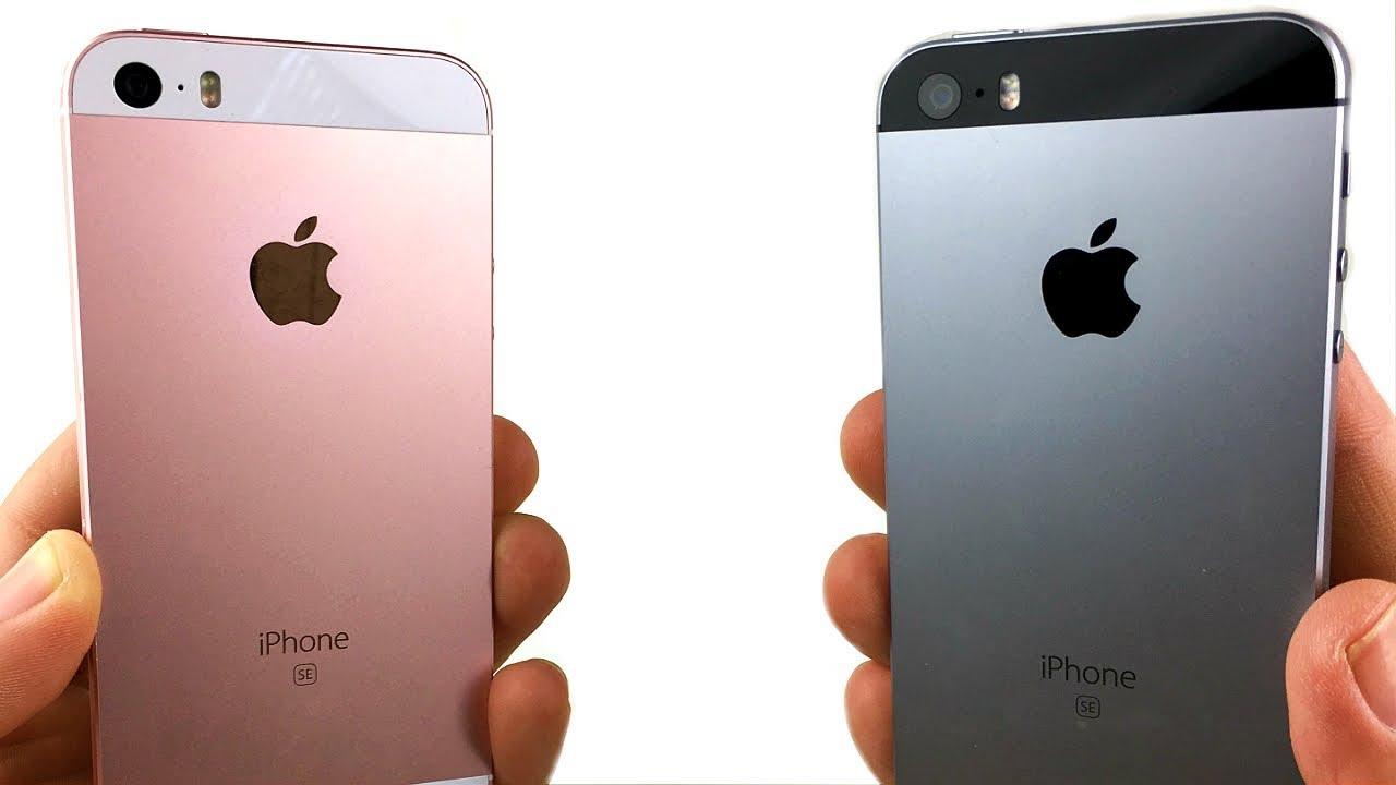 iphone se ios 10 vs 11
