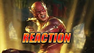 MAX REACTS w/Doods: Flash Trailer & Super (Injustice 2)