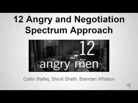 12 Angry Men Spectrum Analysis