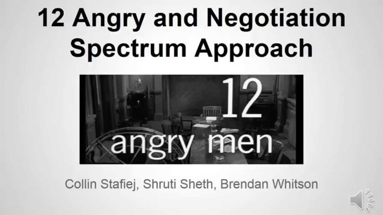 12 Angry Men Spectrum Analysis Youtube
