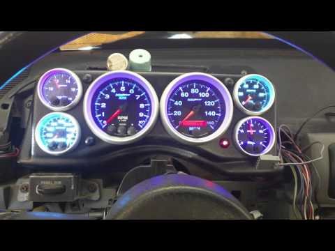Autometer Elite Dash In An 87 Mustang GT