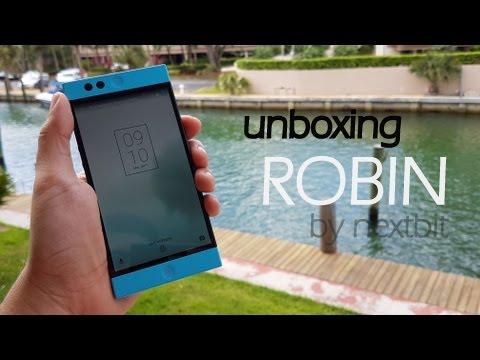 Abrindo a caixa: NEXTBIT ROBIN: o celular da nuvem! UNBOXING!