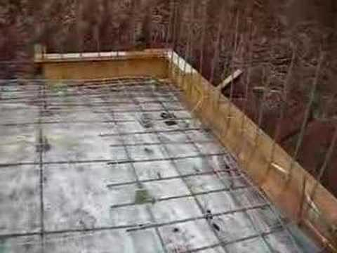 Building a house in hawaii part 9 garage slab ready for for Building a house on a slab