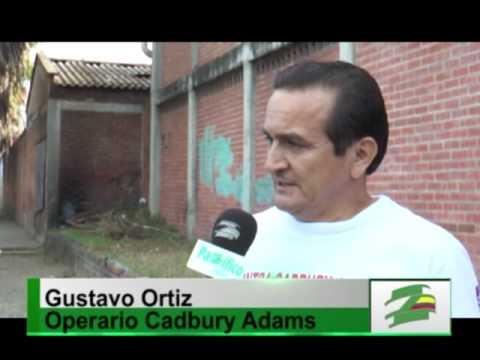 Aumenta la crisis social: cierran la planta de Cadbury Adams en Cali